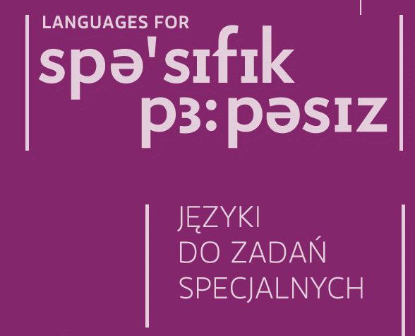 """Konferencja """"Języki do zadań specjalnych"""" w Warszawie"""