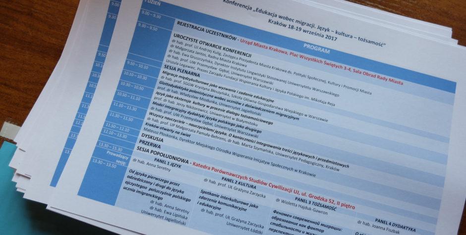"""Konferencja """"Edukacja wobec Migracji. Język – Kultura – Tożsamość"""""""