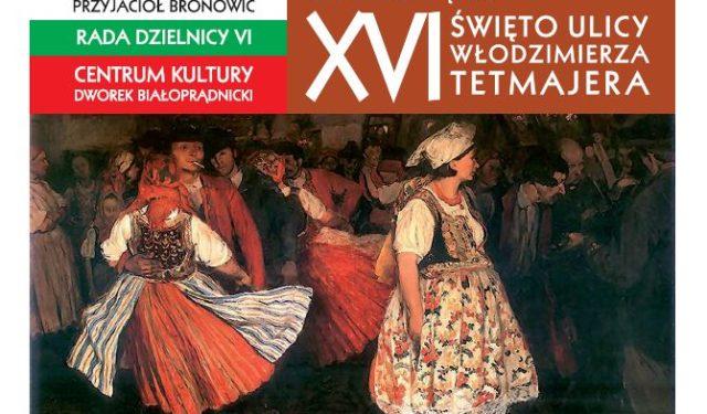 XVI Święto Ulicy Tetmajera – 8 września 2018