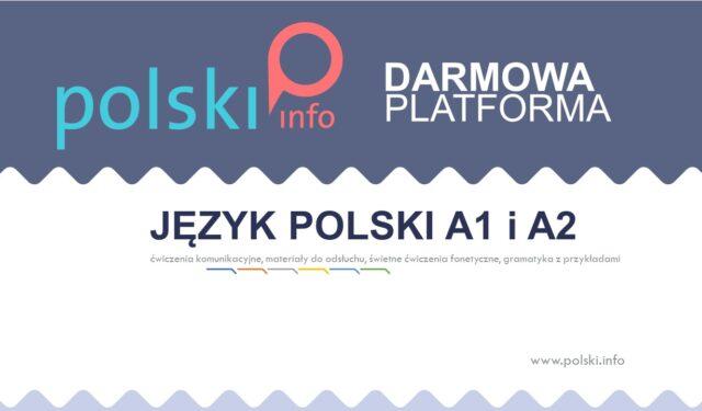 Wielojęzyczna platforma do nauki języka polskiego